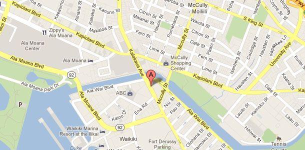 Hawaii Web Design Location