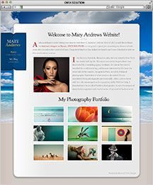 Hawaii Web Designer Mary Andrews