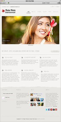 Hawaii Web Designer Hula Hula