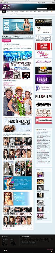 Hawaii Web Designer My RT