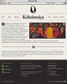 Hawaii Web Designer The Kalaimoku