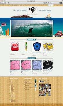Hawaii Web Design Diamond Head