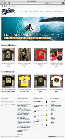 Hawaii Web Designer PipeDreams Surf Co